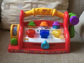 Assortment of Fisher Price and Vtech toys