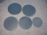 Heavy Duty Rubber Drum Pads