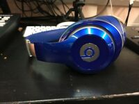 Dr Dre Beats Studio 2.0 Headphones (Blue)