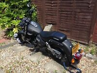 125cc keeway super light - Matt Black Custom Cruiser