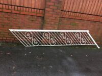 Reclaimed Wrought Iron Stair Rail / Banister ( Can Deliver )