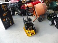 NEW COMPACTOR PLATE 163CC ENGINE EXCELLENT STARTER