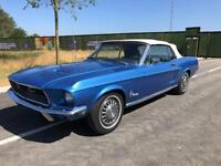 1968 Ford Mustang Convertible V8 Automatic 289cu
