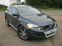 AUTOMATIC VOLVO XC60 LUX SE 2.4 D5 AWD. FULLY LOADED MODEL. 1 OWNER. FULL VOLVO HISTORY. 90 K MILES