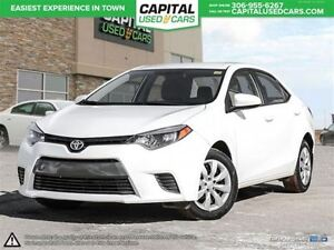 2015 Toyota Corolla LE *Backup Camera *Heated Seats *Bluetooth