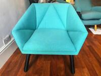 Brand New Made Facet Designer Accent Chair