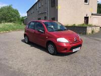 2007 CITROEN C3,1 YEARS MOT,£1150