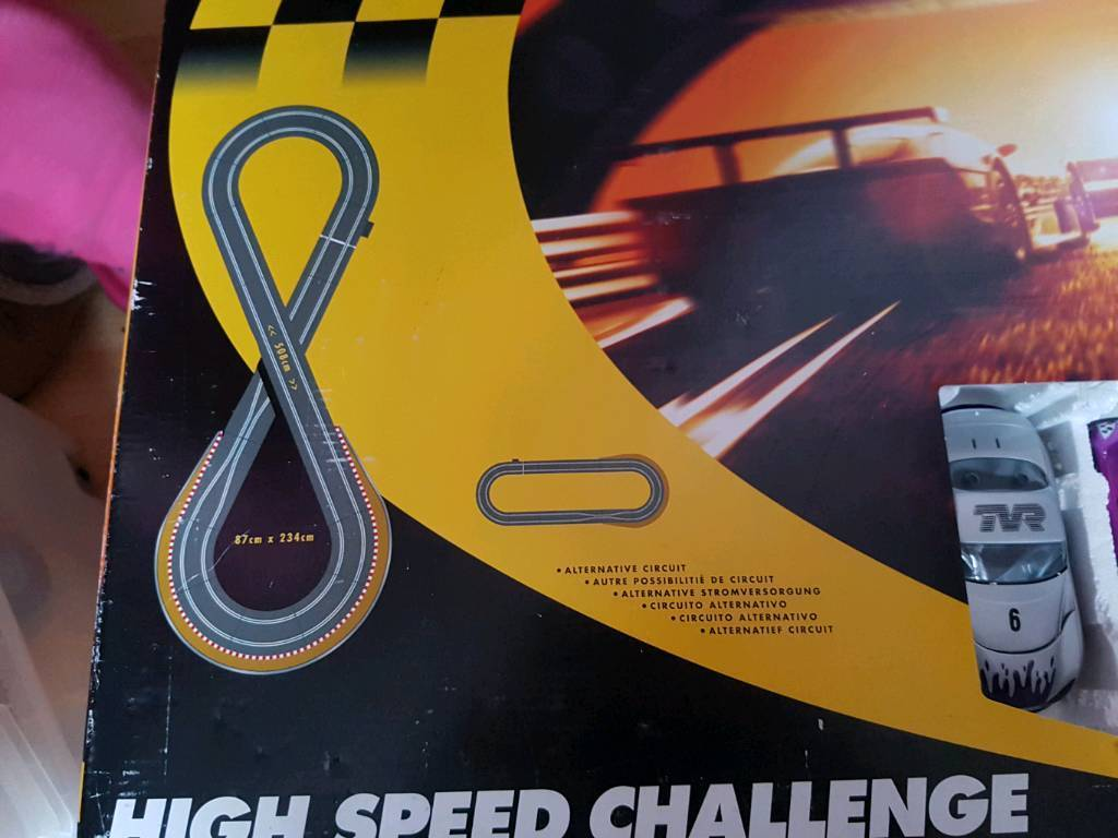 Scalextric high speed challenge and lap counter