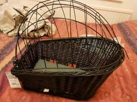 Trixie Bicycle basket dog carrier with lattice