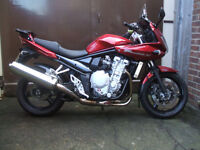 Suzuki GSF SA K8 Bandit. 2009. Polychromatic red. Excellent condition