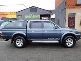 Mitsubishi L200 Warrior 4x4 2005 with load liner and rear canopy NO VAT (42)