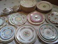 *Vintage China and Tableware to rent for your wedding*