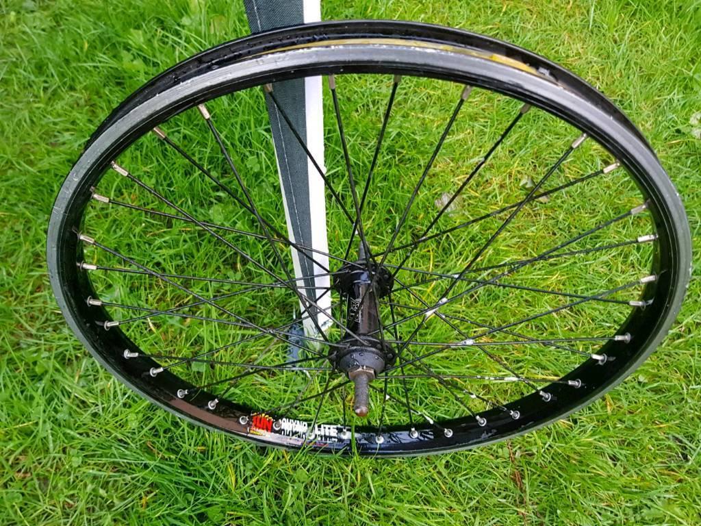 "Sun Rims Rhyno Lite 20"" BMX bike cycle front wheel 10mm axle"