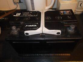 a 12v car battery
