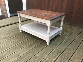 Renewed coffee table