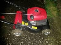 Mountfield 3.5bhp petrol mower with grass box