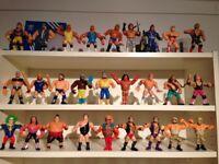 Wanted! Old WWF wrestling figures toys wwe Hasbro