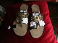 NEXT SANDALS Brown leather NEW Size 8/42