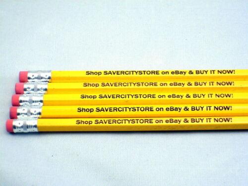 24 Custom Laser Engraved Pencils - Gifts, Advertising, Wedding, Business