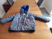 Grey boys school coat size 6-7yrs