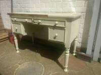 Vintage shabby sheek desk project