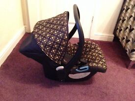 Silver cross 3D Jewel car seat for 0-13kg in excellent condition