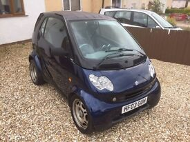 2003 Smart Fortwo City Coupe 700cc Pure 50bhp