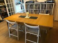 Large 6/8 person dining table