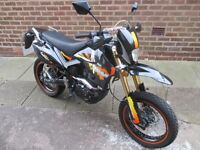 pulse adrenaline 125 2015 very nice bike moted and ready to go