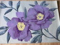 Brand new Flower mix wool rug size 171 cm long 122 cm width