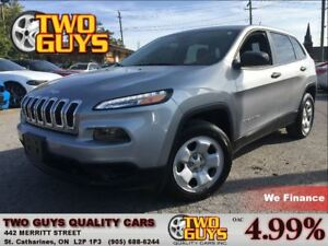2014 Jeep Cherokee Sport LOW KMS!! FWD