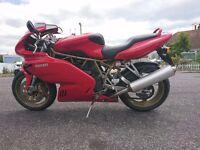 Ducati 900SS Super sport Red 1999.