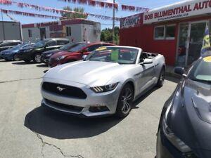 2017 Ford Mustang Ecoboost Premium Conv($214 bi weekly oac)