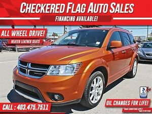2011 Dodge Journey R/T AWD-HEATED LEATHER SEATS