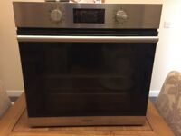 Hotpoint Electric Single Built In Fan Oven with Grill SA2844HIX