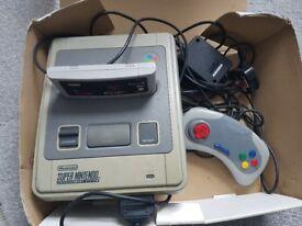 Original Super Nintendo with Games!