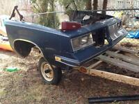 85 olds cutlass front clip and fenders