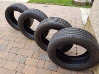 Goodyear 255/55/18 All Season Tyres.