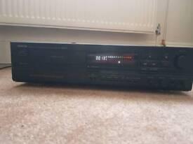 Denon drs-640 dolby hx-pro cassette player.