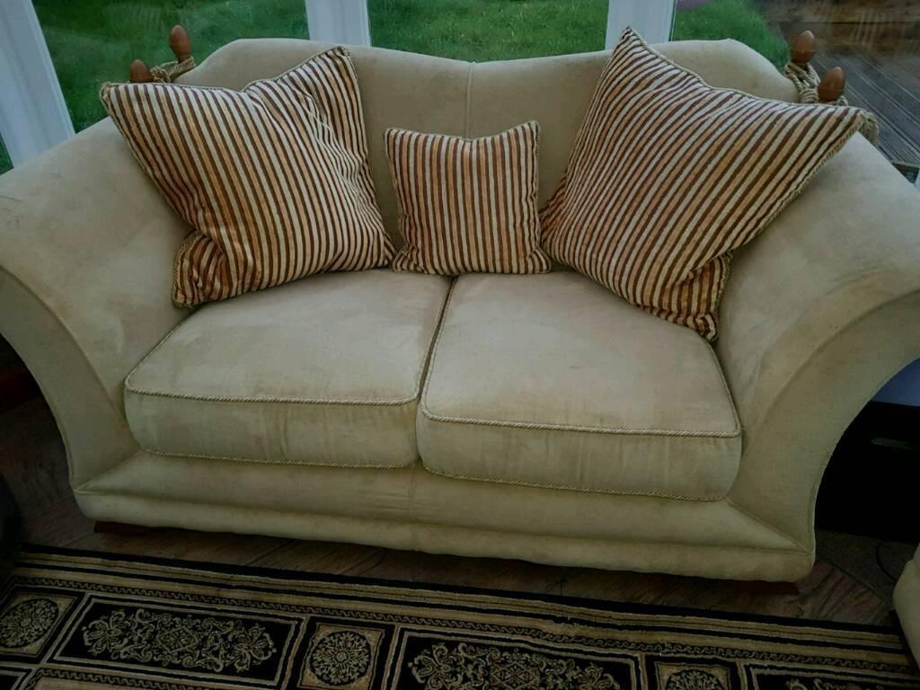 Cream Sofa - 2 seater