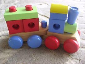 ELC Wooden Puzzle Train