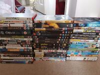 50 dvds, £25 for the lot!
