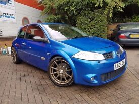 Renault Megane Sport 225, Massive list of work (2004)