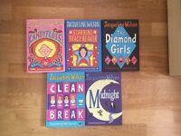 5 Jacqueline Wilson Books