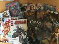 Mixed publisher comic bundles