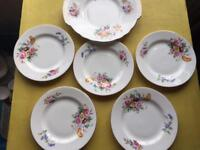 Vintage china 36 miss match collection wedding, tea shop, candles, craft