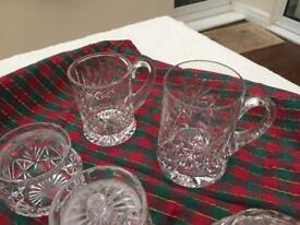 Assorted glassware/crystal