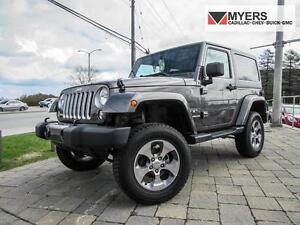 2016 Jeep Wrangler SAHARA, NAV, TWO TOPS, TWO SETS OF WHEELS