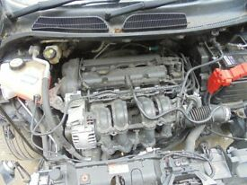 FORD FIESTA 2009 Mk7 1.25 Engine complete ONLY 47k miles