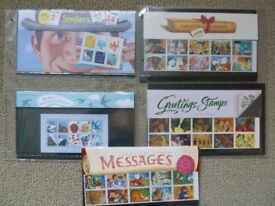 GB MINT STAMPS. Greetings / Smilers collection